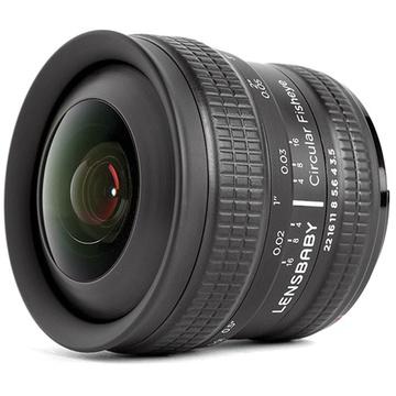 Lensbaby 5.8mm f/3.5 Circular Fisheye Lens for Fujifilm X
