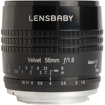 Lensbaby Velvet 56mm f/1.6 Lens for Fujifilm X