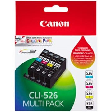 Canon CLI-526 Photo Colour Ink Cartridges (Pack of 5)
