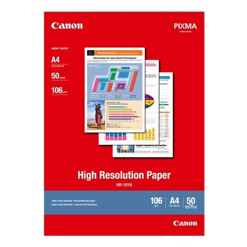 Canon HR101A4II High Resolution Paper (50)