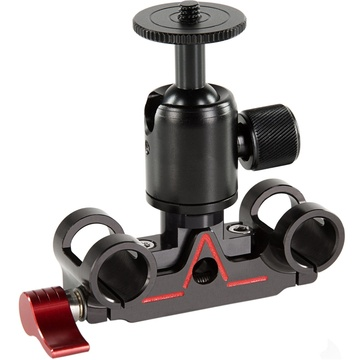 SHAPE Lightweight Ballhead with 15mm Rod Block for Atomos Flame Cage
