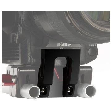 SHAPE Metabones Adaptor Support Bracket for Sony FS5 Camera Baseplate