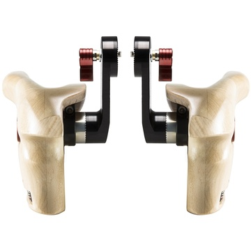 SHAPE Double Wooden Handle Grips for ARRI Rosettes