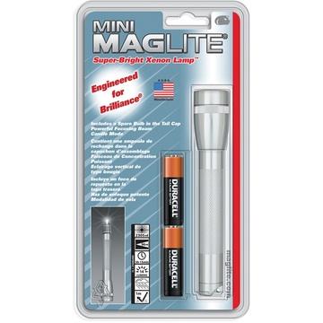 Maglite Mini Maglite 2-Cell AA Flashlight (Silver)