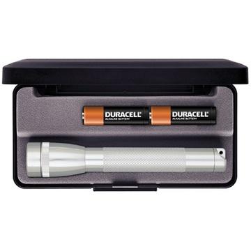 Maglite Mini Maglite 2-Cell AA Flashlight with Presentation Box (Silver)