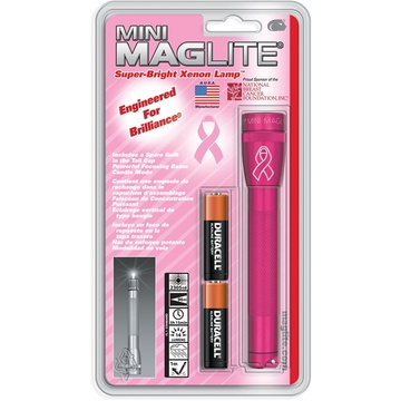 Maglite Pink Mini Maglite 2AA Incandescent Flashlight