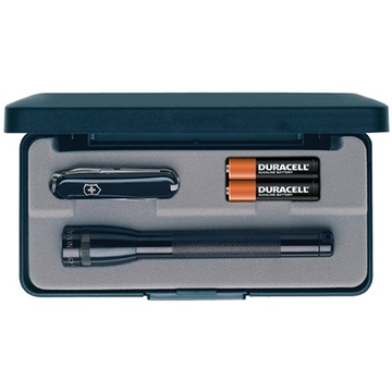 Maglite Mini Maglite 2-Cell AAA Flashlight and Classic Swiss Army Knife Combo