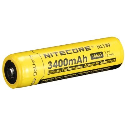 Nitecore NL1834 Li-Ion Rechargeable Battery 18650 (3.7V, 3400mAh)