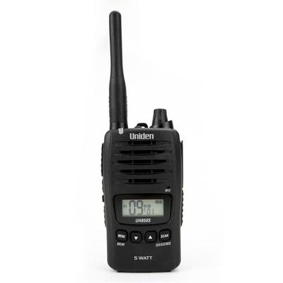 Uniden UH850S  5 Watt UHF Waterproof CB Handheld Radio