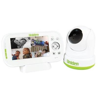 "Uniden BW3451R 4.3"" Digital Wireless Baby Video Monitor - Pan & Tilt"