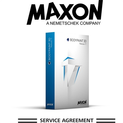 MAXON Service Agreement - BodyPaint - 12 Months (Download)