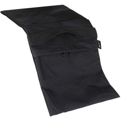 Impact Empty Saddle Sandbag Kit, Set of 6 - 12 Kg (Black)