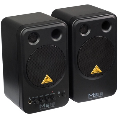 Behringer Monitor Speakers MS16 (Pair)