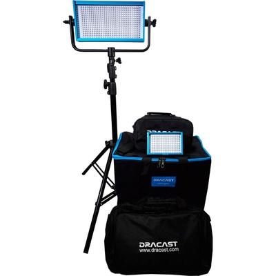 Dracast Outdoor Bi-Color 3200K-5600K with V-Mount Battery Plates