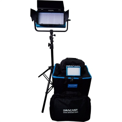 Dracast Outdoor Deluxe Bi-Color 3200k-5600k with V-Mount Battery Plates
