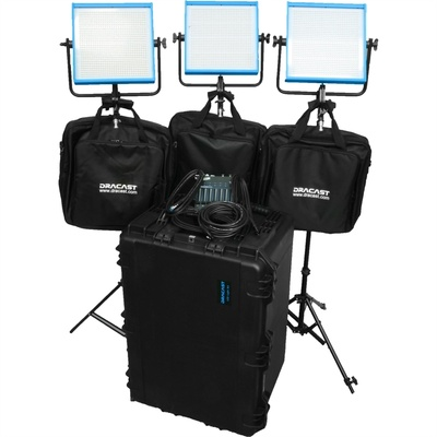 Dracast Newsroom Plus 3-Light Kit (Tungsten)