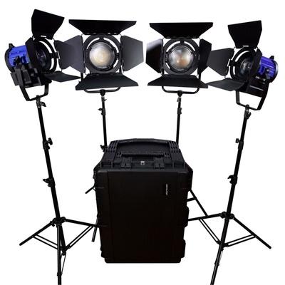 Dracast LED1900W 5600K Daylight 4-Light Kit