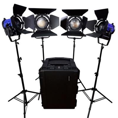 Dracast LED 3500W 5600K Daylight 4-Light Kit