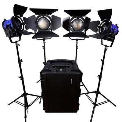 Dracast LED 4000W 3200K - 5600K Bi-Color 4-Light Kit