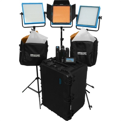 Dracast Studio Plus 3-Light Kit (Daylight)