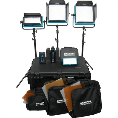 Dracast ENG Plus 4-Light Kit (Daylight)