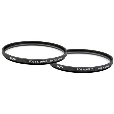 Hoya 55mm Fog Set (A&B) Effect Glass Filters