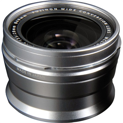 Fujifilm WCL-X100 Wide-Angle Conversion Lens for X100 Camera (Silver)