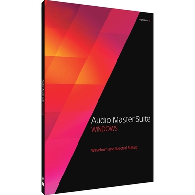 MAGIX Entertainment Audio Master Suite 2.5 - Audio Editing Software Bundle (Download)