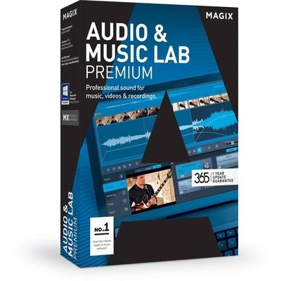 MAGIX Entertainment Audio & Music Lab Premium - Music Production Software (Academic, Download)