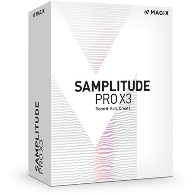 MAGIX Entertainment Samplitude Pro X3 - Music Production Software (Educational, Download)