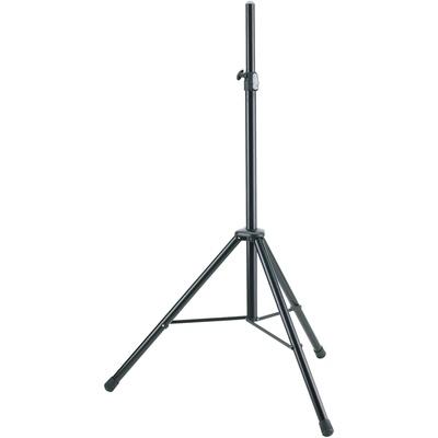 K&M 21435 Adjustable Speaker Stand (Black)