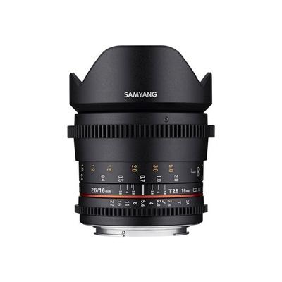 Samyang 16MM T2.6 VDSLR ED AS UMC Lens for Canon