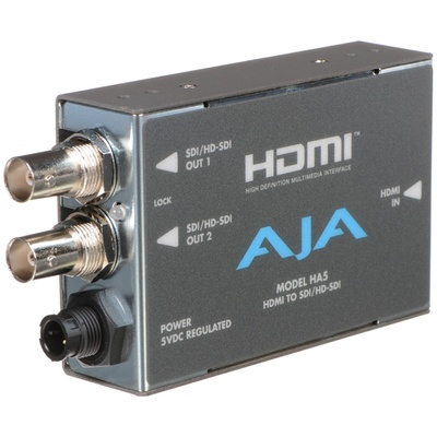 AJA HA5 Video and Audio Converter