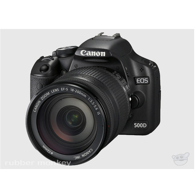 Canon EOS 500D Digital SLR and EFS18-200IS Lens