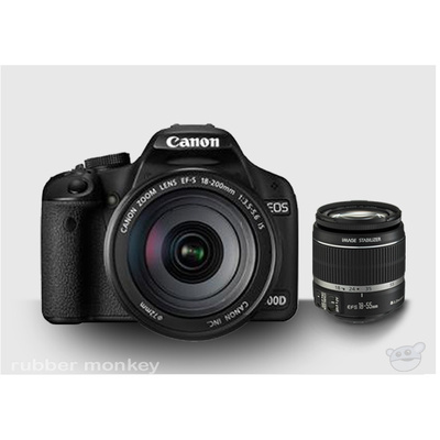 Canon EOS 500D Body and EFS 18-55IS Lens