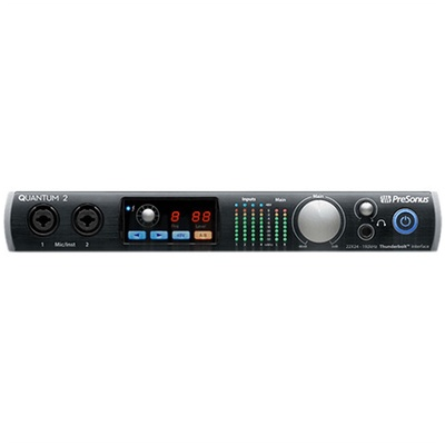 PreSonus Quantum 2 22x24 Thunderbolt 2 Low-latency Audio Interface