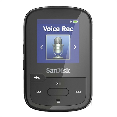 SanDisk 16GB Clip Voice (Black)