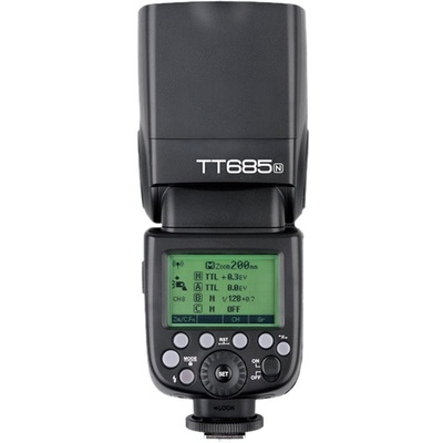 Godox TT685N Thinklite TTL Flash with X1T-N Trigger Kit for Nikon Cameras