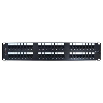 DYNAMIX PP-C6-48 48 Port 19' Cat6 UTP Patch Panel