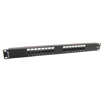 DYNAMIX PP-C6-16 16-Port 19' Cat6 UTP Patch Panel