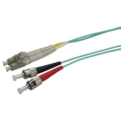 DYNAMIX 50u LC/ST OM3 Fibre Lead (Duplex, Multimode, 1m)