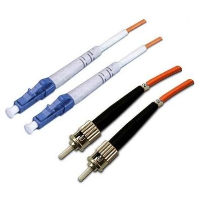 DYNAMIX 62.5u LC/ST OM1 Fibre Lead (Duplex, Multi-Mode, 2m)
