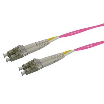 DYNAMIX 50u LC/LC OM4 Fibre Lead (Duplex, Multi-Mode, 15m)