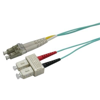 DYNAMIX 50u LC/SC OM3 Fibre Lead (0.5m)