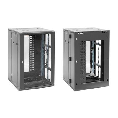 DYNAMIX RDME18 18RU 600mm Deep Universal Swing Frame Cabinet
