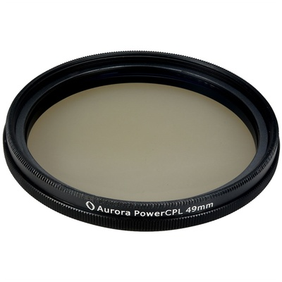 Aurora-Aperture PowerCPL 49mm Gorilla Glass Circular Polarizer Filter