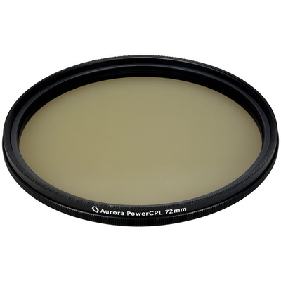 Aurora-Aperture PowerCPL 72mm Gorilla Glass Circular Polarizer Filter