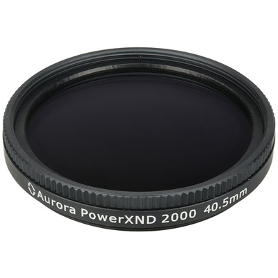 Aurora-Aperture 40.5mm PowerXND 2000 Variable Neutral Density 1.2 to 3.3 Filter (4 to 11 Stops)