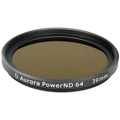Aurora-Aperture PowerND ND64 39mm Neutral Density 1.8 Filter
