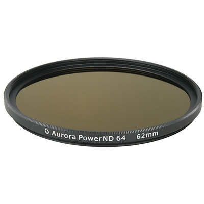 Aurora-Aperture PowerND ND64 62mm Neutral Density 1.8 Filter